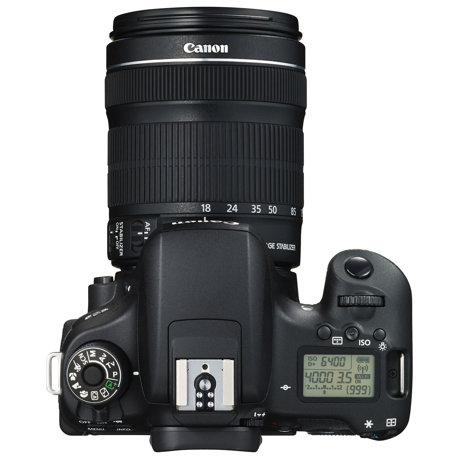 Canon EOS Rebel T6s DSLR Camera with 18.