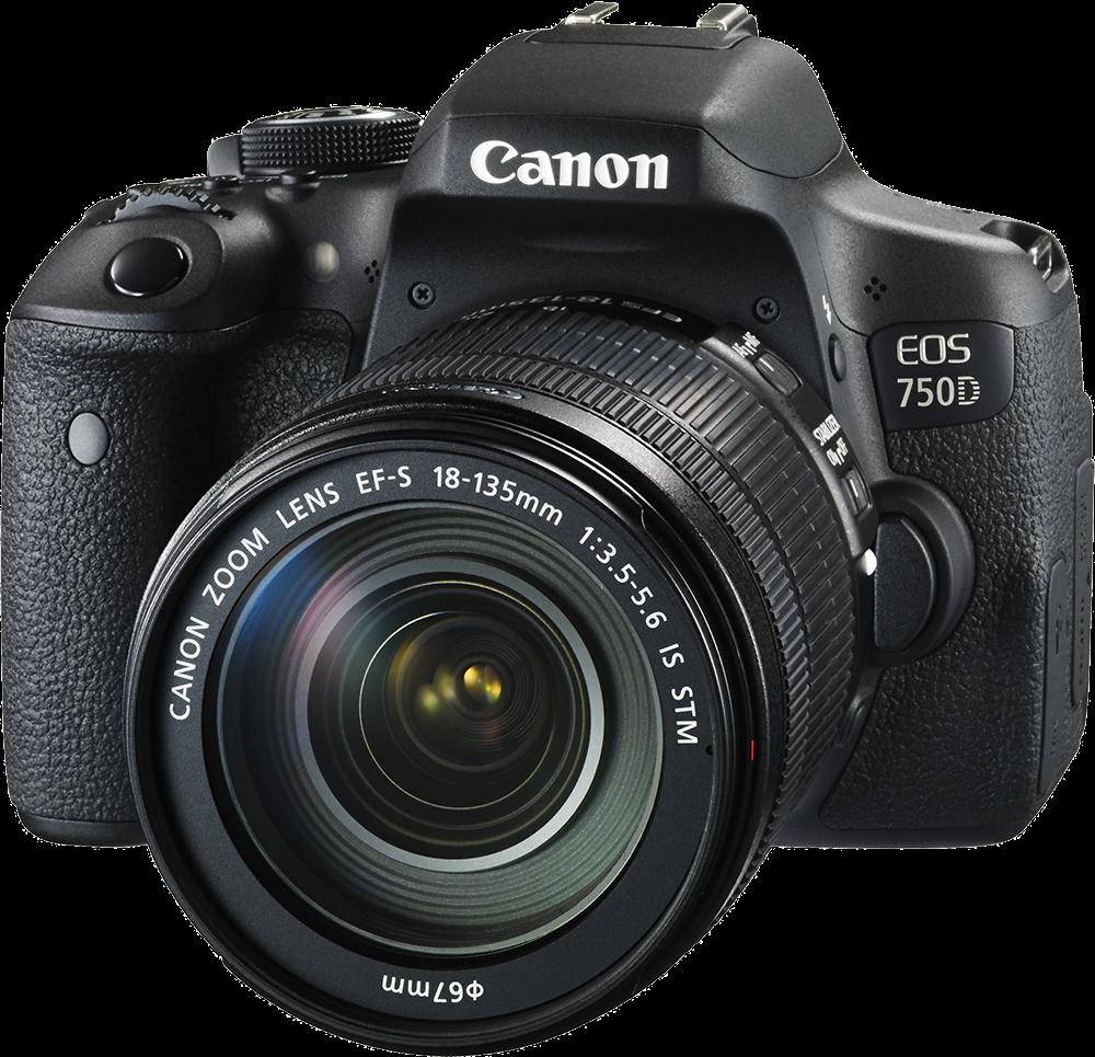 Canon 750 D 18/135.