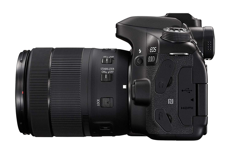 Canon EOS 80D Digital SLR Kit with EF.