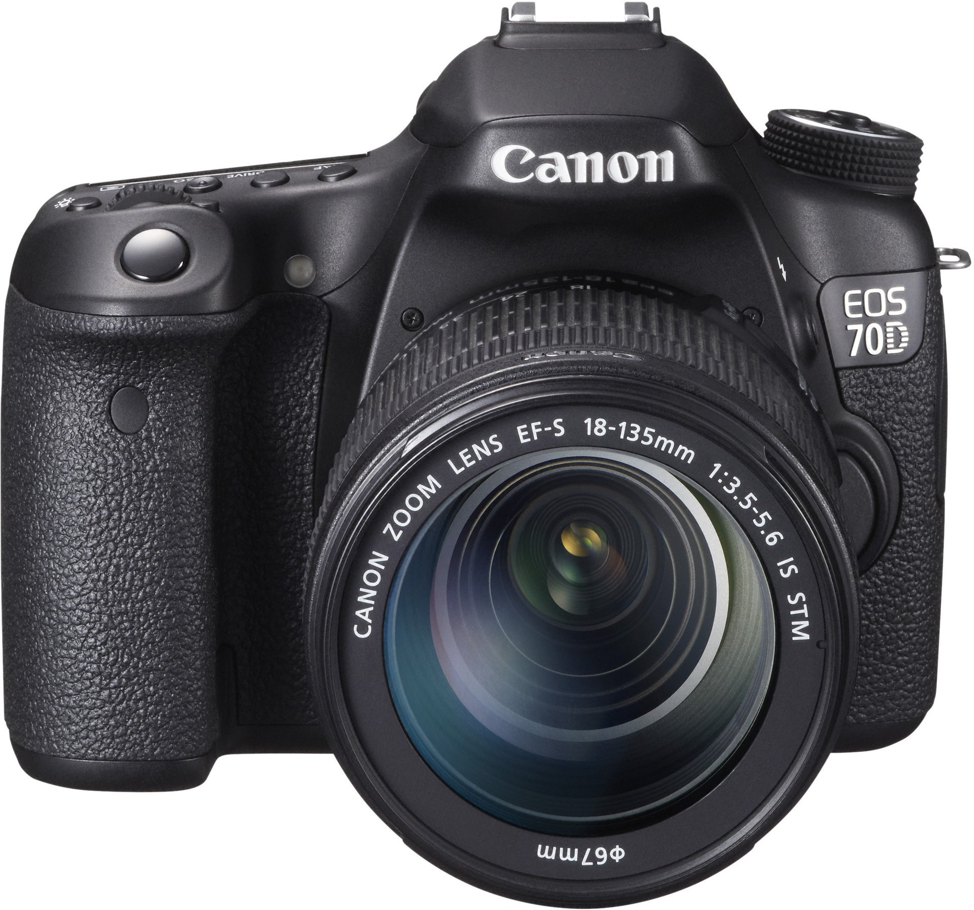 Canon EOS 70D DSLR Camera with EF.