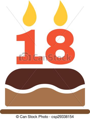 Number 18 Clip Art Vector and Illustration. 265 Number 18 clipart.