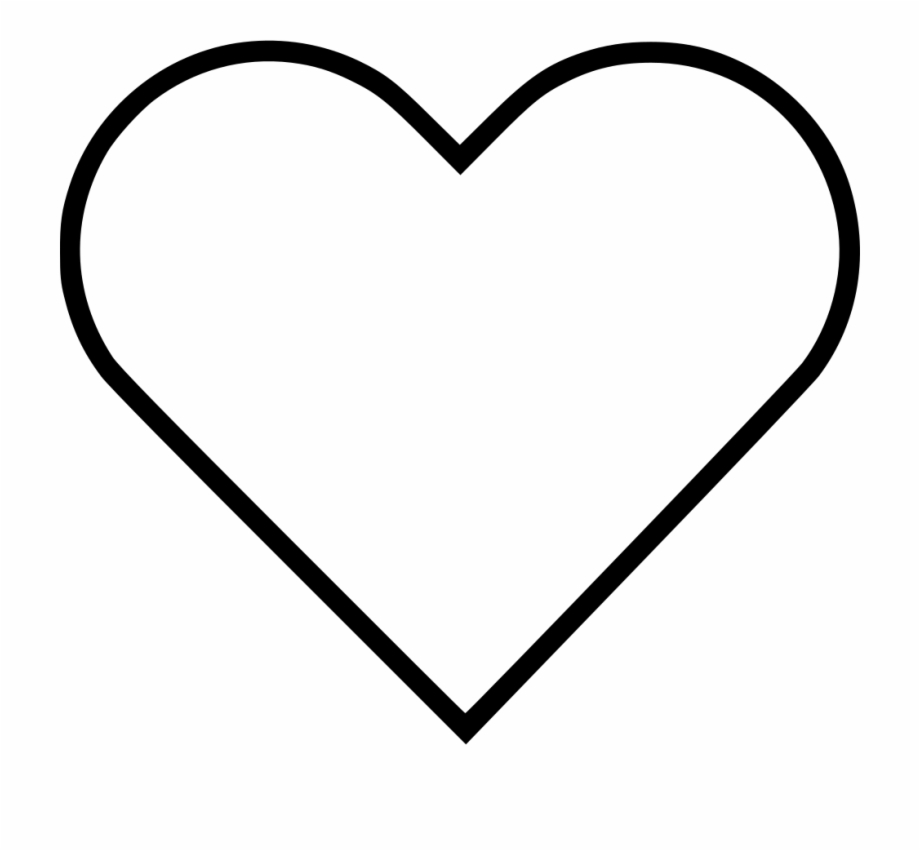 Heart Clipart Black And White Images, Free Download Heart.