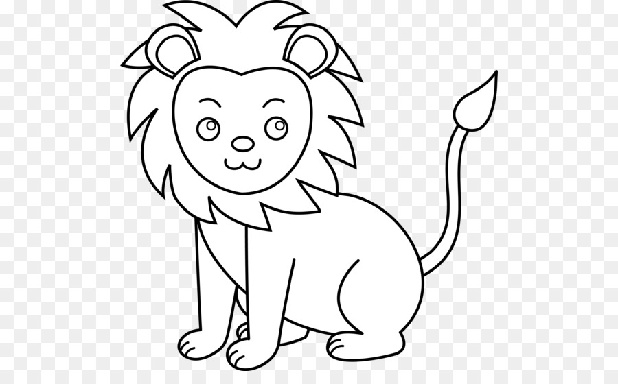 Lion Black And White Png & Free Lion Black And White.png.