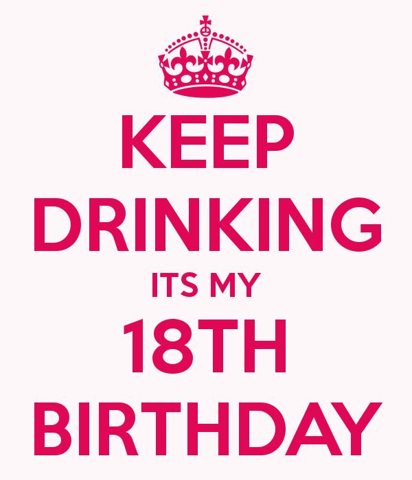 18. Birthday.