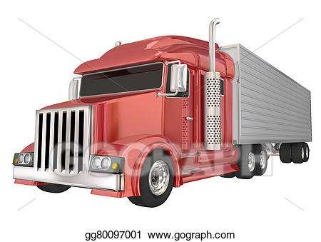 18 wheeler american flag clipart clipart images gallery for.