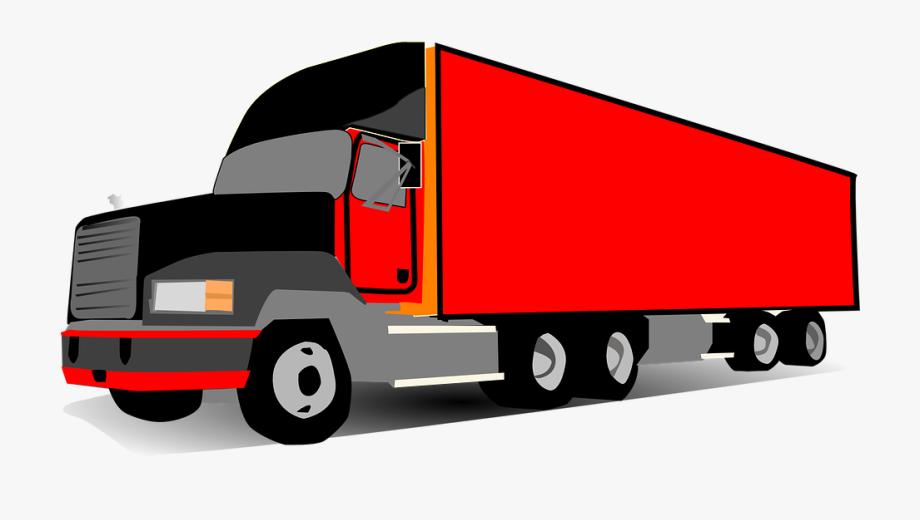 Trucking Vector Semi Truck.