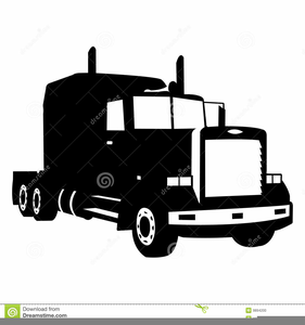 Semi Wheeler Clipart.