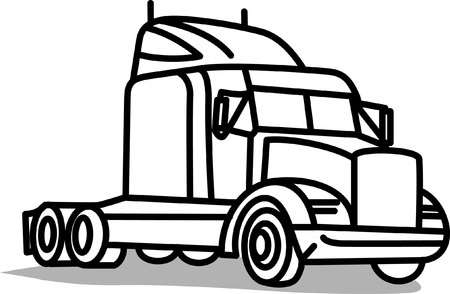 18 Wheeler Stock Illustrations, Cliparts And Royalty Free 18 Wheeler.