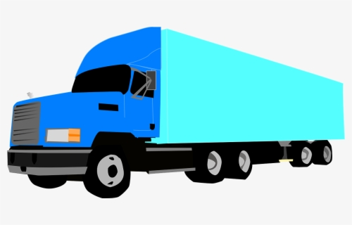 Free 18 Wheeler Clip Art with No Background.