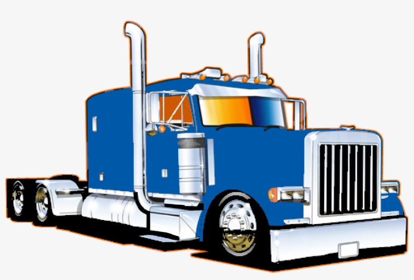 Trucking Vector 10 Wheeler Truck Clip Art Free Download.