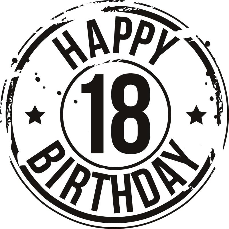 Free Happy 18 Birthday, Download Free Clip Art, Free Clip.