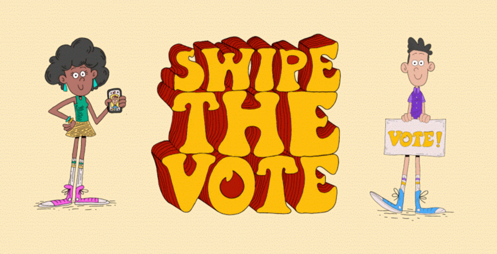 Tinder\'s \'Swipe the Vote\' campaign aims to educate young.