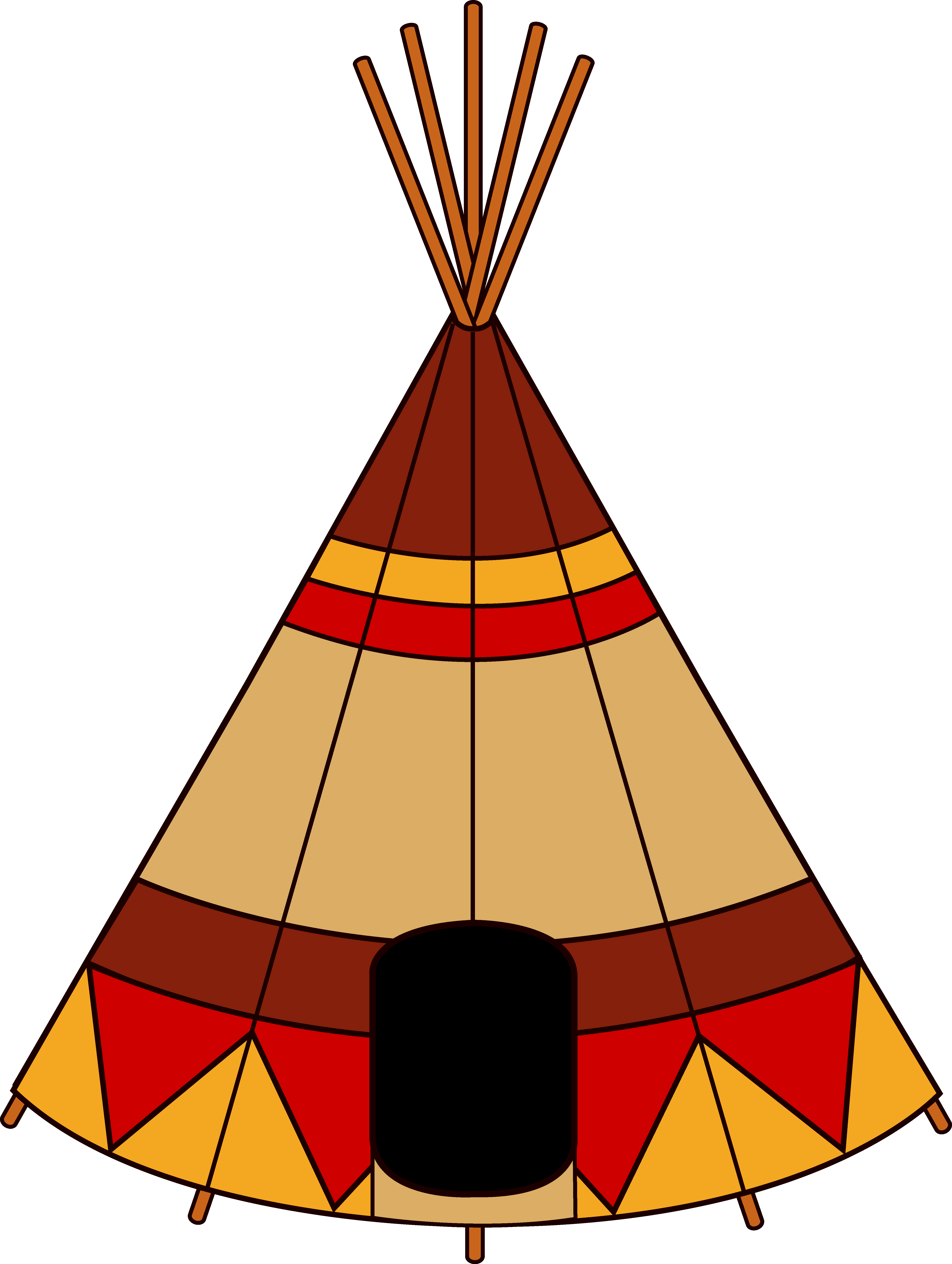 Free Native American Clipart.