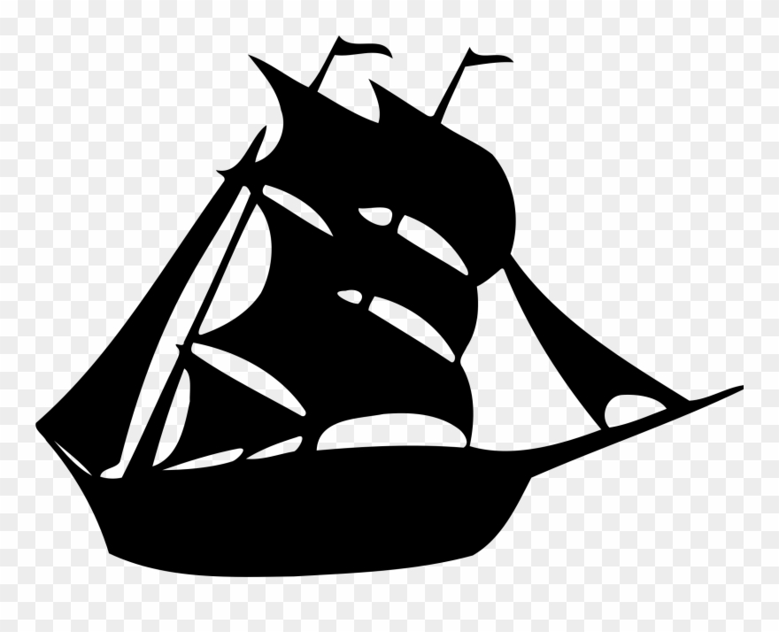 Image Free Stock Sailing Silhouette At Getdrawings.