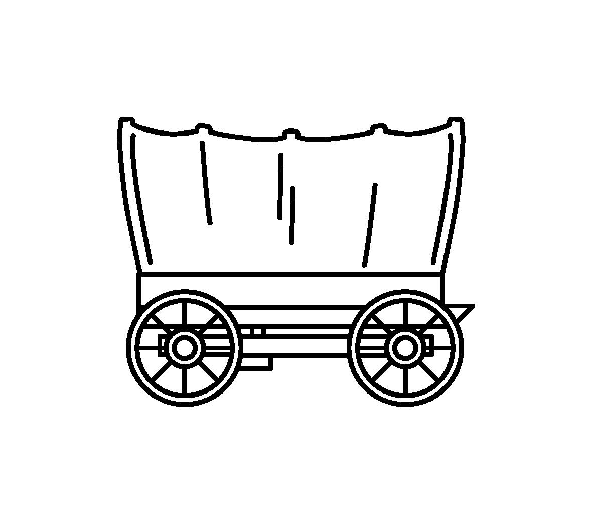 1521 Wagon free clipart.