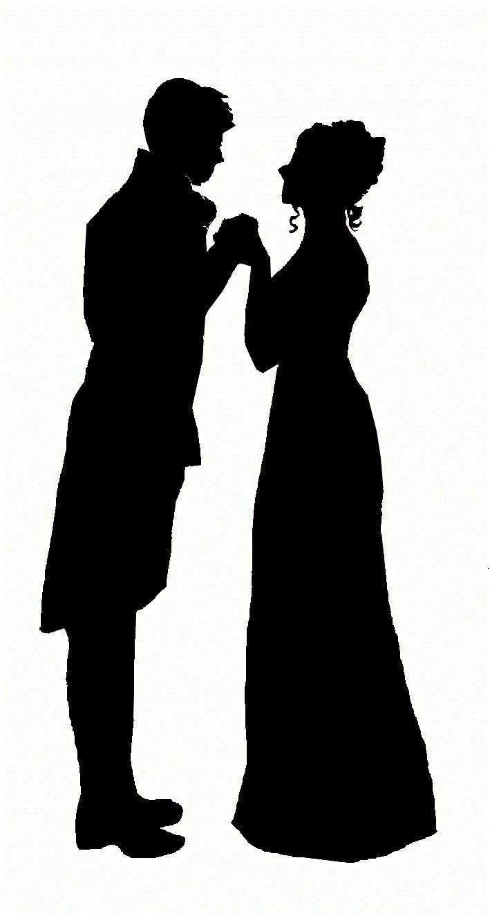 1800s silhouette.