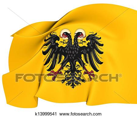 Clipart of Holy Roman Empire Flag (1400.