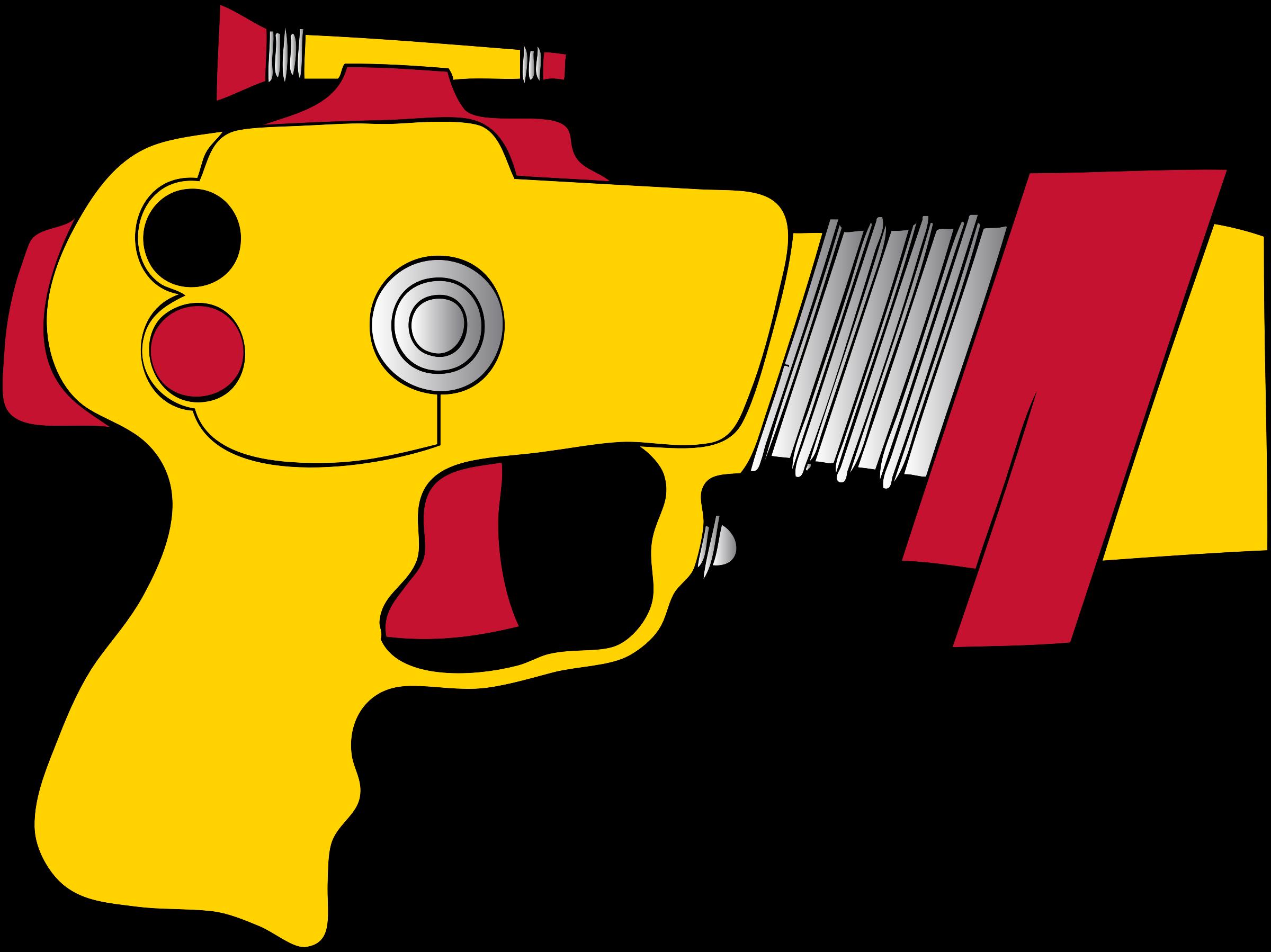 Clipart Ray Gun Clip art of Open Clipart #1806 — Clipartwork.