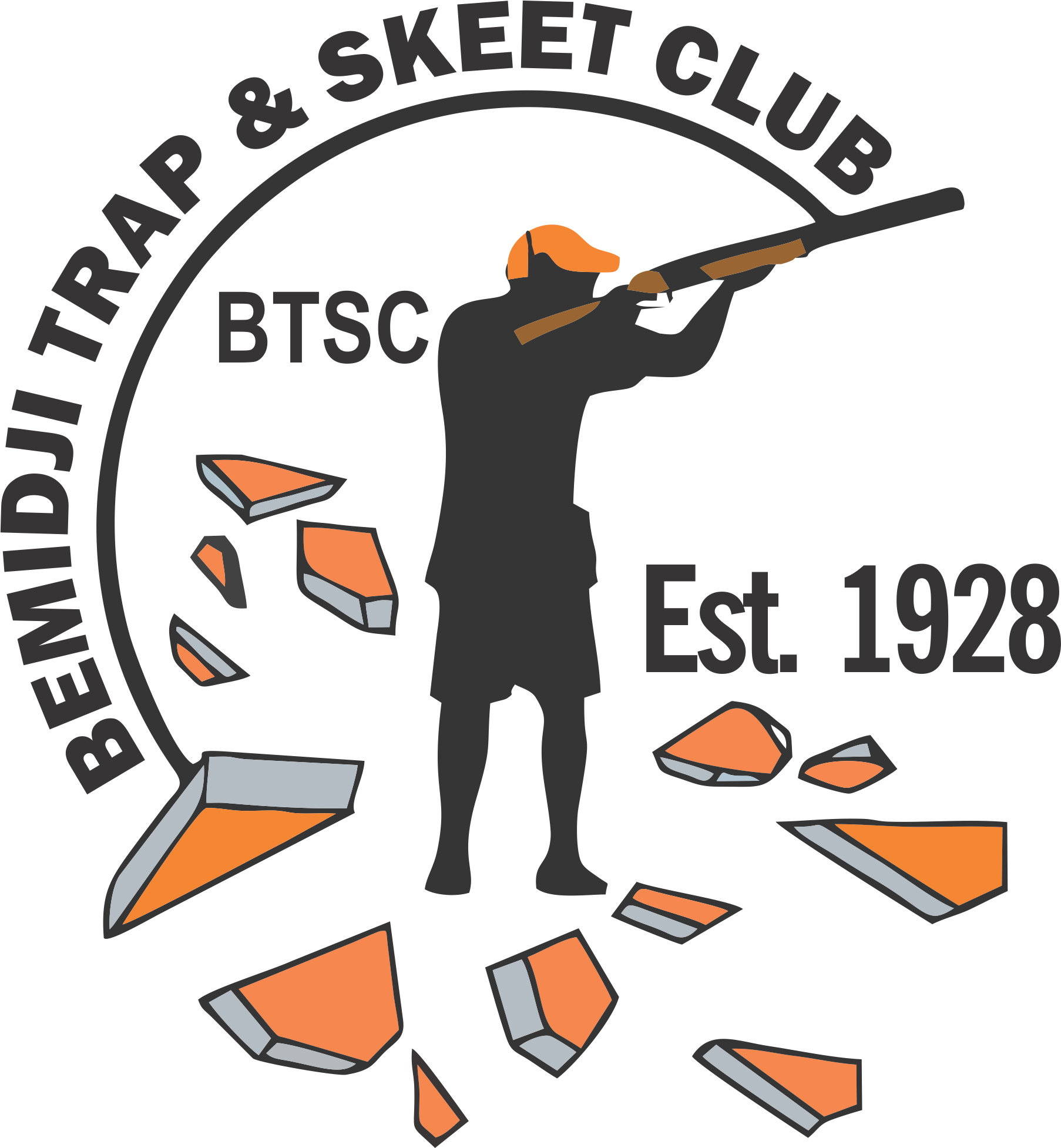 Sporting Clays Clip Art.