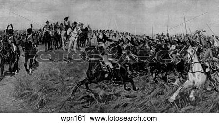 Clipart of The Battle of Friedland, 1807 wpn161.