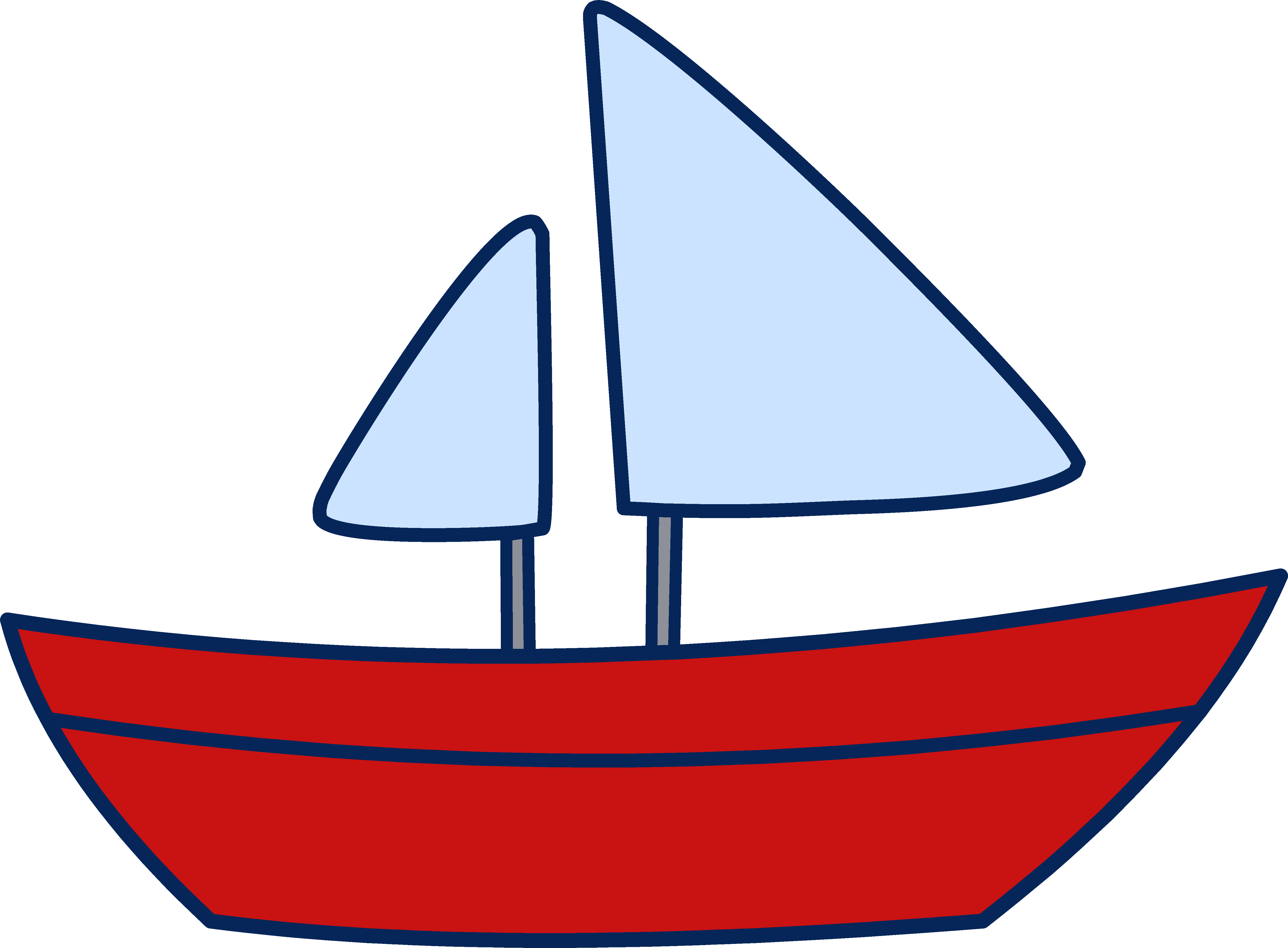 Sailboat clip art free clipart images.