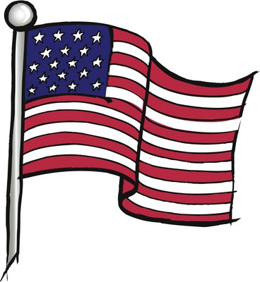 Star Spangled Banner Flag Clip Art.