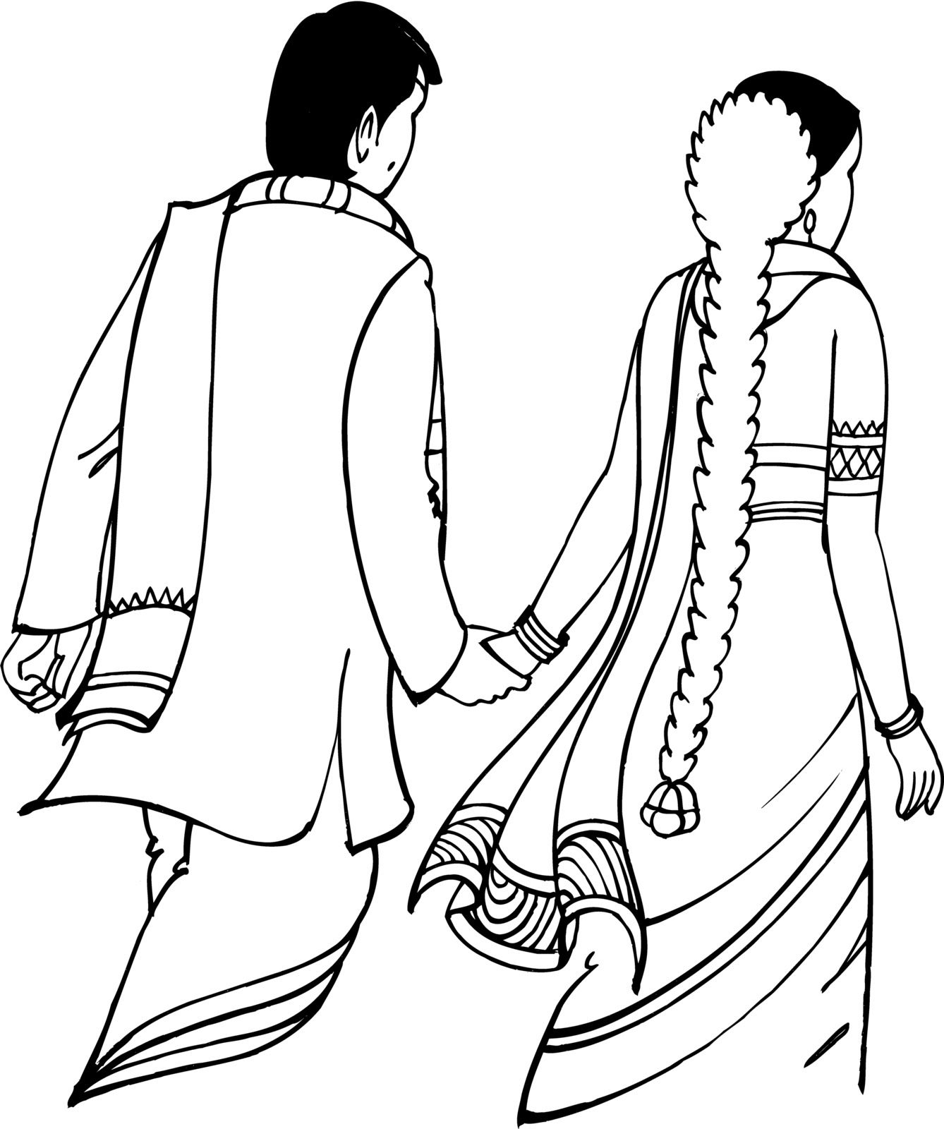नवाबिहान: Wedding & Other Cliparts.