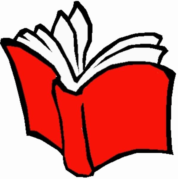Clip Art School Book Clipart.