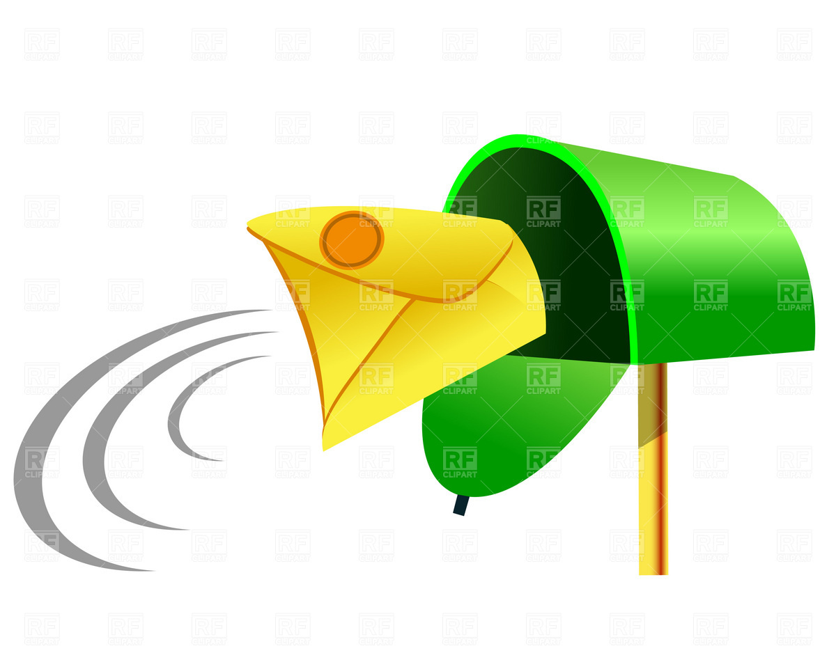 Incoming mail Vector Image #1823.