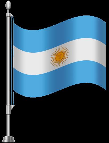 Argentina Flag PNG Clip Art.