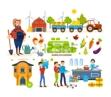 Agricultural Products Clipart.