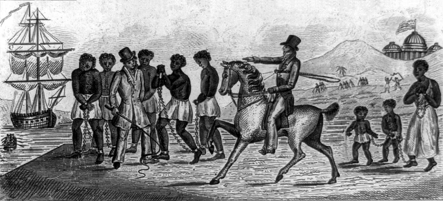 Clipart Design Stock: United States slave trade, 1830 IMAGE.