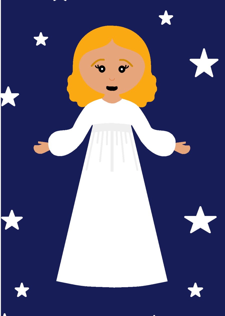 Angel, Blue, White, transparent png image & clipart free download.