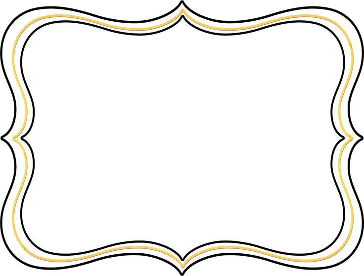 Invitation frame clipart.