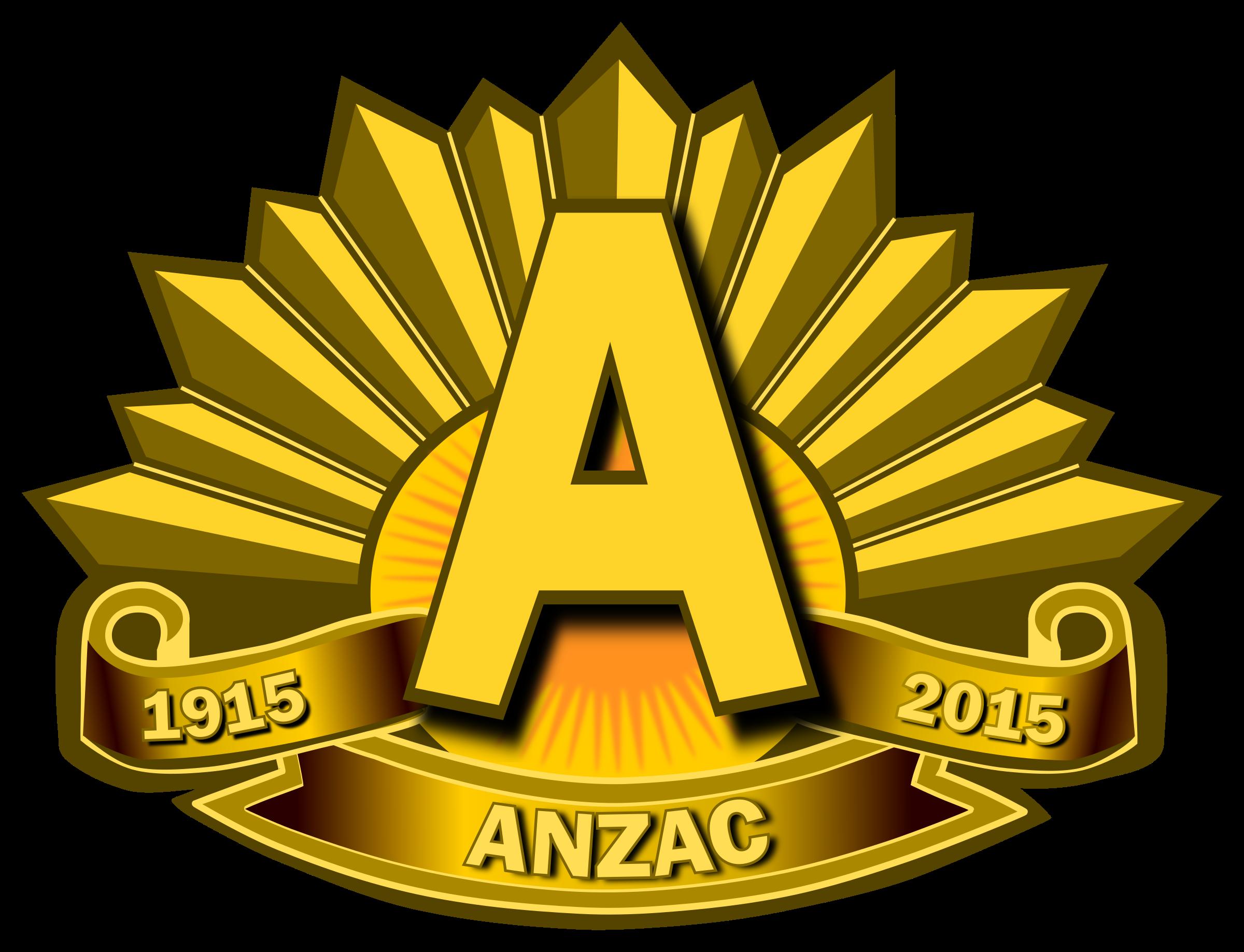 Anzac Day 2015 Clip Art.