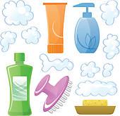 Beauty Supply Clipart.