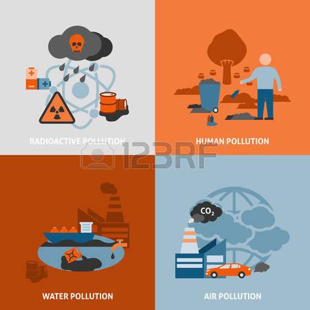 Environmental Damage Clipart.
