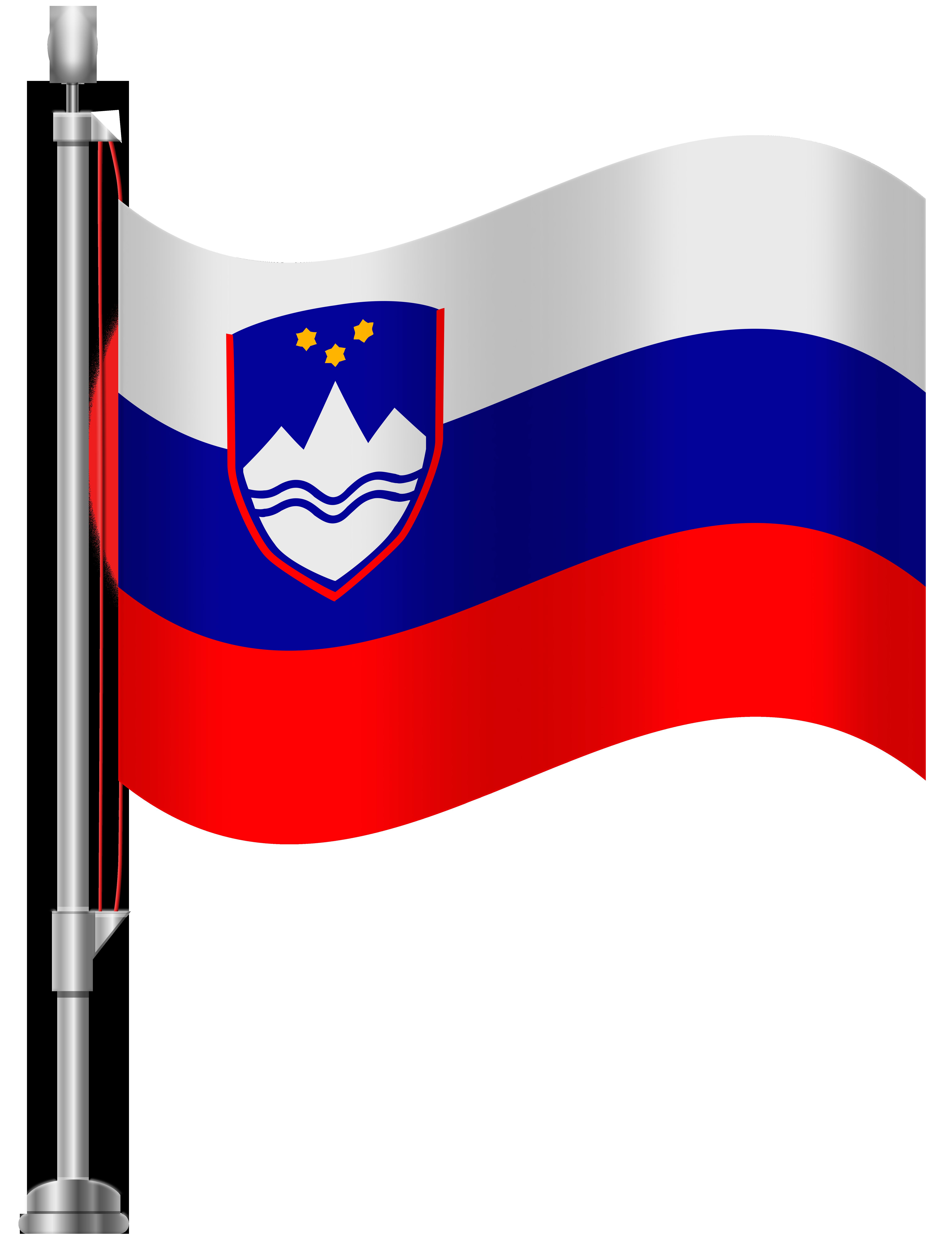 Slovenia Flag PNG Clip Art.
