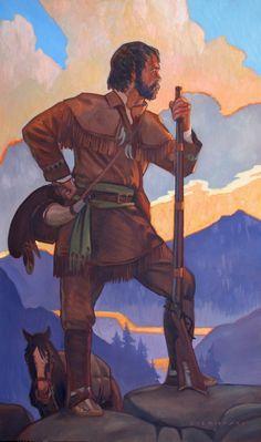 2790 Best Mountain Men images.