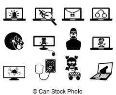 Cyber crime Vector Clipart Royalty Free. 1,844 Cyber crime clip.