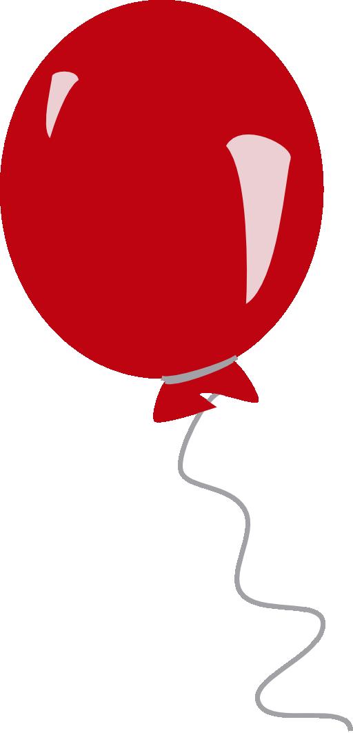 Cartoon balloon clip art image #1844.
