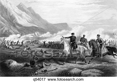 Picture of 1840S February 1847 General Zachary Taylor Directing.