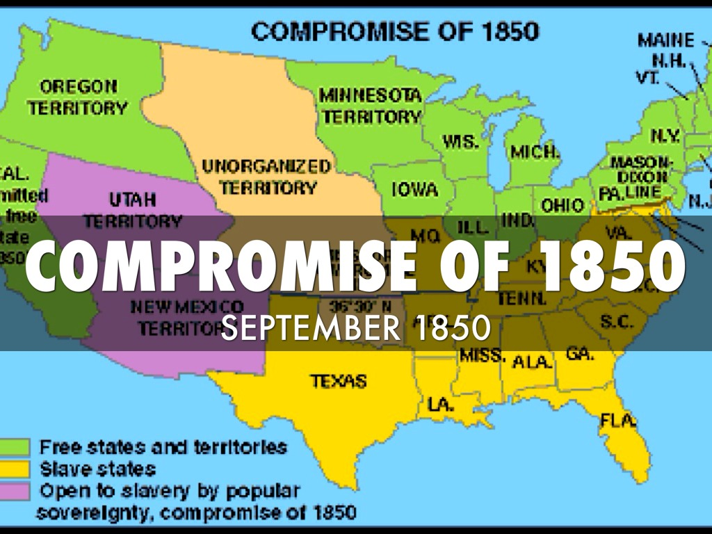 Causes of the Civil War : Scribble Maps in compromise of 1850.