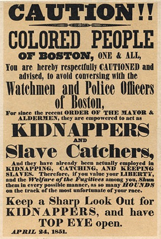 On this Day in History… September 18th — The Fugitive Slave Act of.