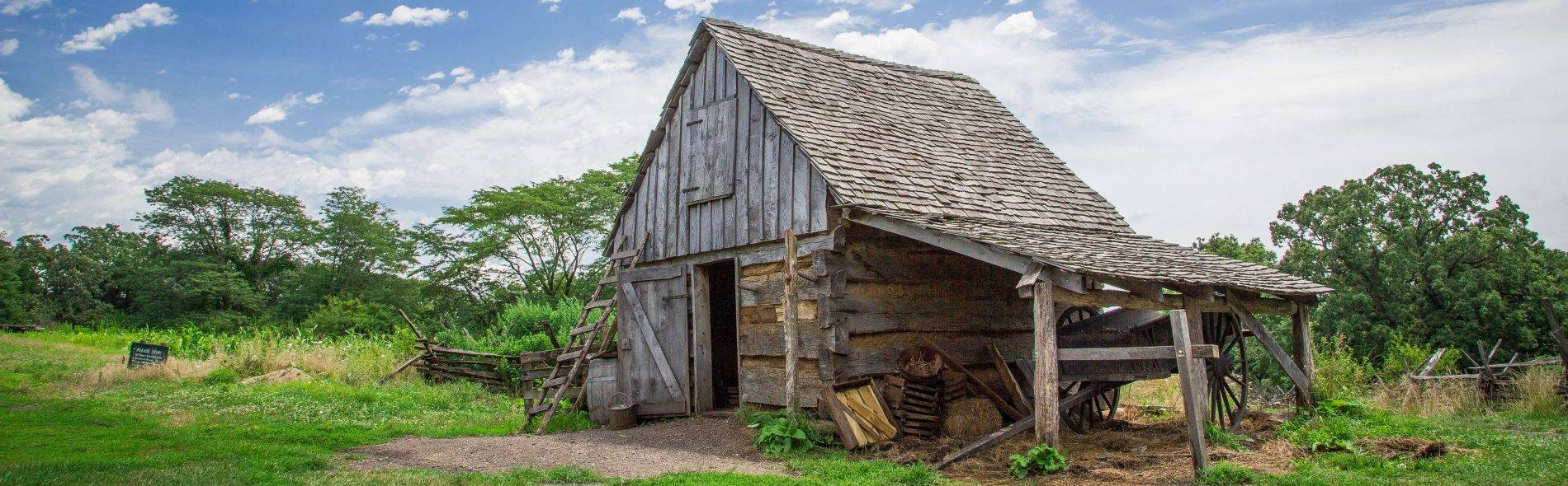 1850 Pioneer Farm.