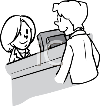 Customers Bank Clipart.