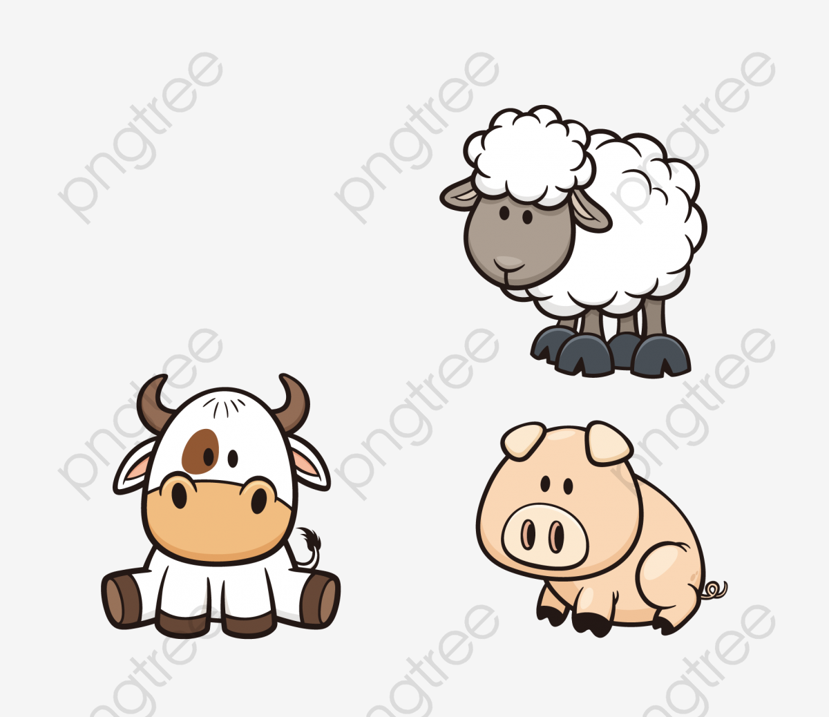 Transparent sheep PNG Format Image With Size 1855*1598 Preview Page.