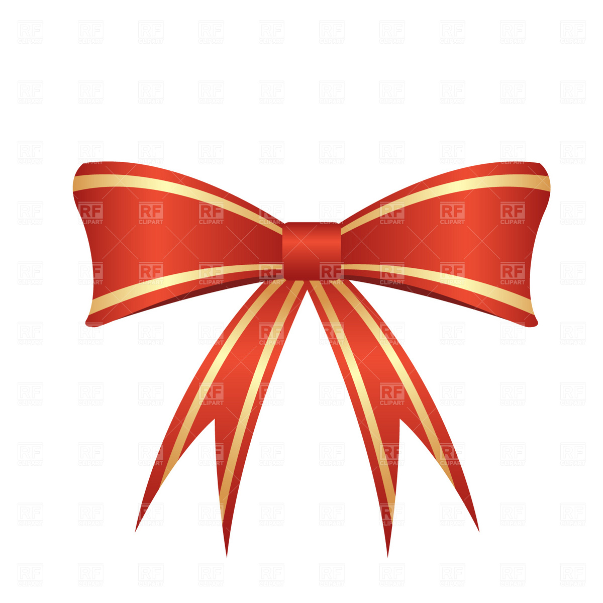 Red bow Vector Image of Design elements © prague #1855.