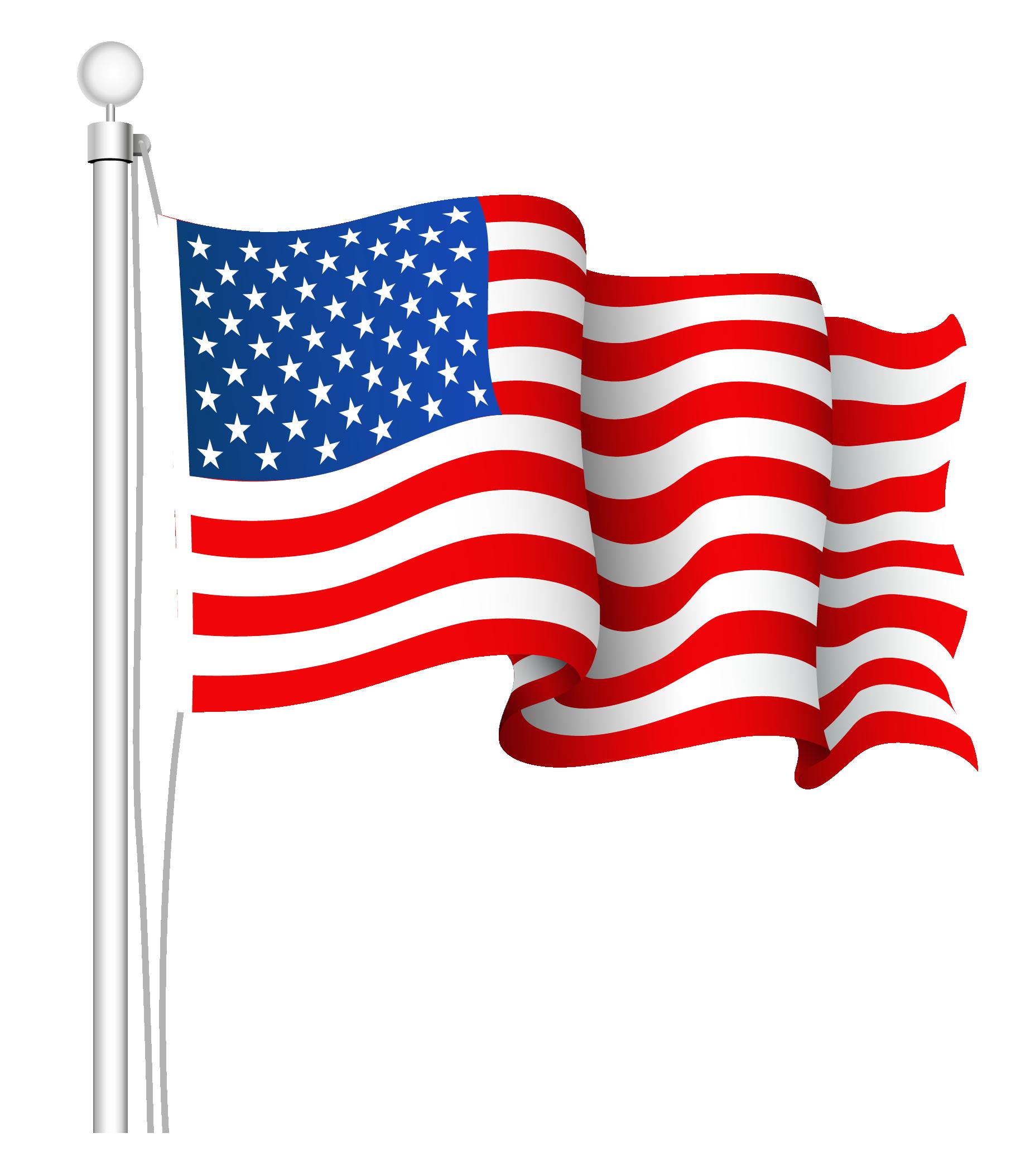 Clip art flag free usa.