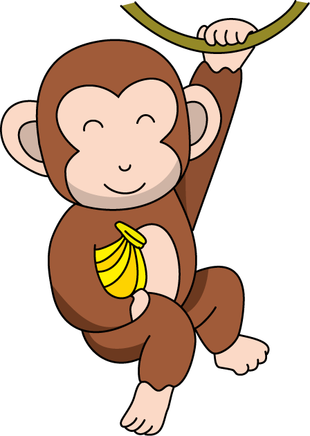 Monkey clipart free clipart.